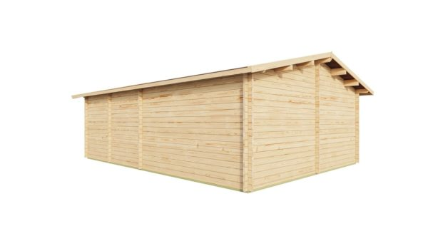 Wooden Garden Gym MARINA 44 | 8.6 x 6.6 m (28'21'' x 21'49'') 44 mm 5