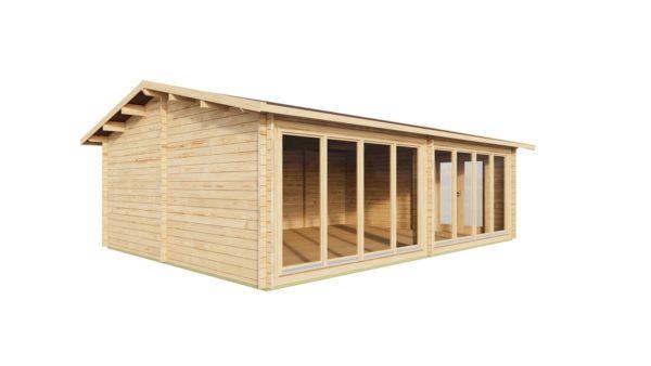 Wooden Garden Gym MARINA 44 | 8.6 x 6.6 m (28'21'' x 21'49'') 44 mm 6