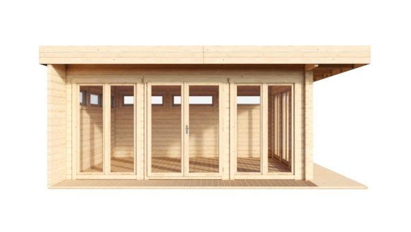 Modern home office MELANY 70 | 6 m x 6 m (19'8'' x 19'8'') 70 mm 3