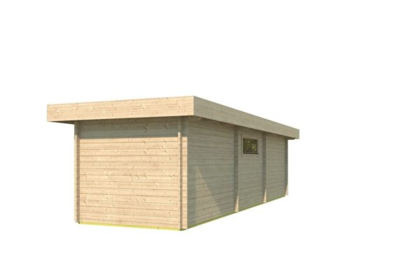 Garden house with 2 separate rooms MILAN 44 | 9.8 x 3.4 m (31'11'' X 11'1'') 44 mm 4