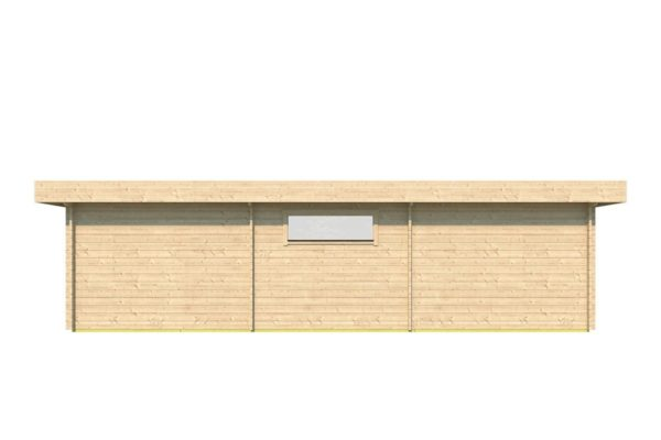 Garden house with 2 separate rooms MILAN 44 | 9.8 x 3.4 m (31'11'' X 11'1'') 44 mm 5
