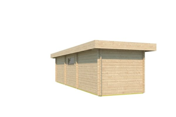 Garden house with 2 separate rooms MILAN 44 | 9.8 x 3.4 m (31'11'' X 11'1'') 44 mm 6