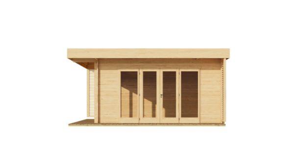Modern garden room MURRAY DARLING 44 | 4.7 x 4.7 m (15'5'' x 15'5'') 44 mm 3
