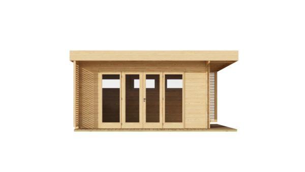 Modern garden room MURRAY DARLING 44 | 4.7 x 4.7 m (15'5'' x 15'5'') 44 mm 4