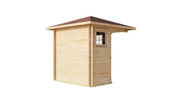 Basic corner shed NINA 44 C | 2.9 x 2.9 m (9'6'' x 9'6'') 44 mm 7