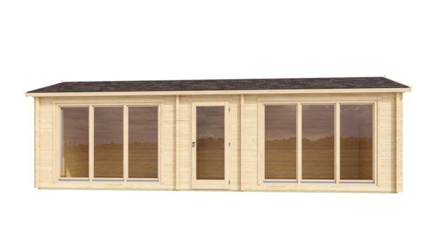 Garden office building OFFICE HOUSE 70 | 9.2 x 4 m (30'1'' x 13'2'') 70 mm 3