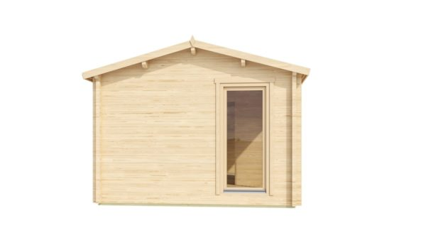 Garden office building OFFICE HOUSE 70 | 9.2 x 4 m (30'1'' x 13'2'') 70 mm 4