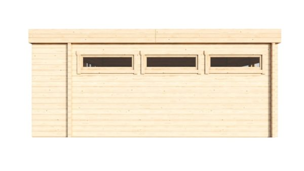 Contemporary wooden cabin MELANY 44 | 6 m x 6 m (19'8'' x 19'8'') 44mm 4