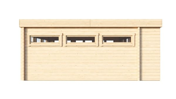 Contemporary wooden cabin MELANY 44 | 6 m x 6 m (19'8'' x 19'8'') 44mm 5