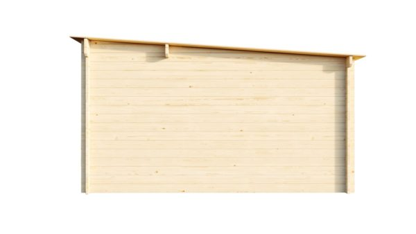 Wooden home office MARIANNE 44 | 5.6 m x 4.2 m (18'4'' x 13'9'') 44 mm 3