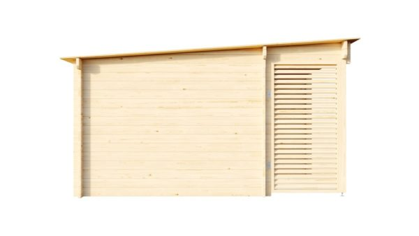 Wooden home office MARIANNE 44 | 5.6 m x 4.2 m (18'4'' x 13'9'') 44 mm 2
