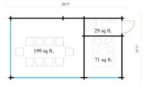 Outdoor Kitchen Lounge MAREK 70 | 8 x 4.6 m (26'5'' x 15'1'') 70 mm 13