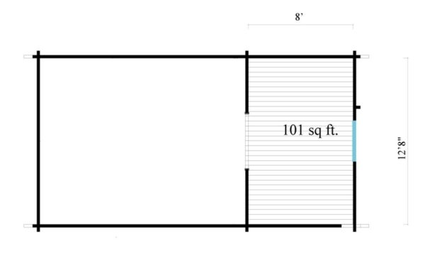 Outdoor Kitchen Lounge MAREK 70 | 8 x 4.6 m (26'5'' x 15'1'') 70 mm 11