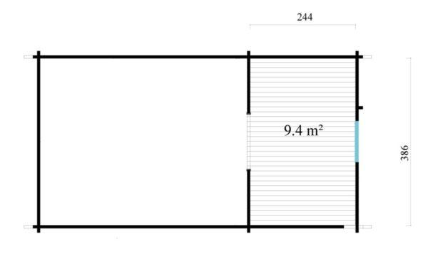 Outdoor Kitchen Lounge MAREK 70 | 8 x 4.6 m (26'5'' x 15'1'') 70 mm 9
