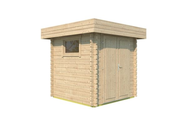 Practical garden shed ROB 44 A   2.6 x 2.6 m (8'5'' x 8'5'') 44 mm 5