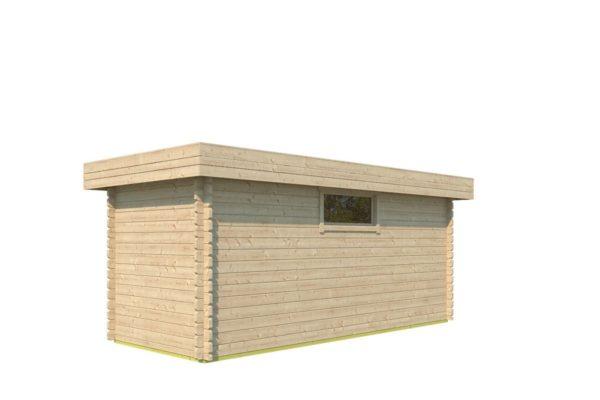 Spacious garden shed ROB 44 C | 5.6 x 2.6 m (18'3'' x 8'5'') 44 mm 3