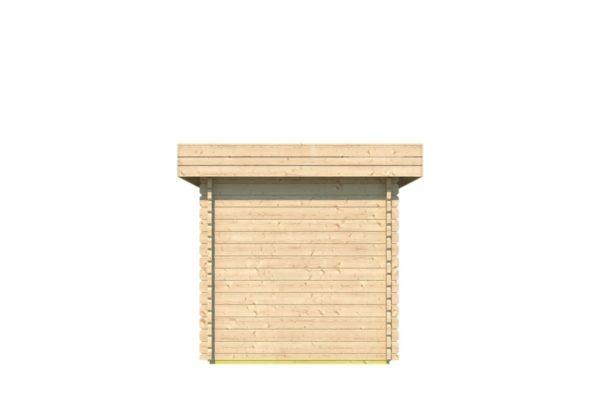 Spacious garden shed ROB 44 C | 5.6 x 2.6 m (18'3'' x 8'5'') 44 mm 4