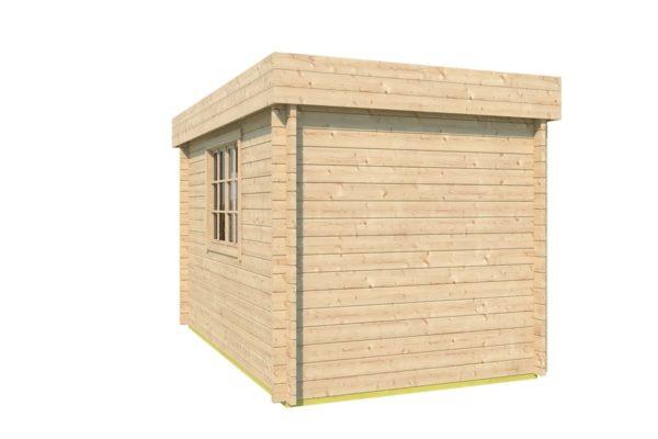 Wooden garden shed STEVE 44 | 2.5 x 3.5 m (8' x 11'4'') 44 mm 5
