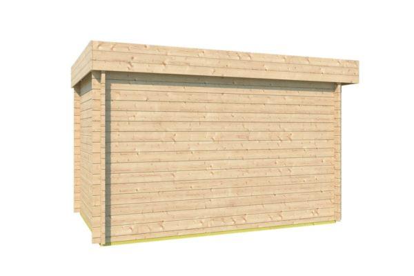 Wooden garden shed STEVE 44 | 2.5 x 3.5 m (8' x 11'4'') 44 mm 6
