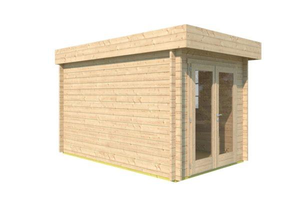 Wooden garden shed STEVE 44 | 2.5 x 3.5 m (8' x 11'4'') 44 mm 7