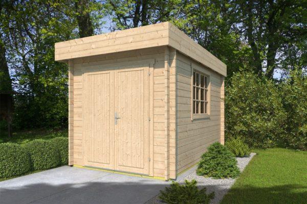 Wooden garden shed STEVE 44 | 2.5 x 3.5 m (8' x 11'4'') 44 mm 2