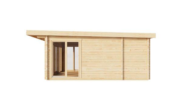 Three-room garden annexe TAUNUS 70 | 7 x 6.3 m (22'7'' x 20'8'') 70 mm 4