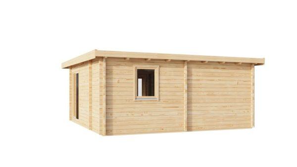 Three-room garden annexe TAUNUS 70 | 7 x 6.3 m (22'7'' x 20'8'') 70 mm 5