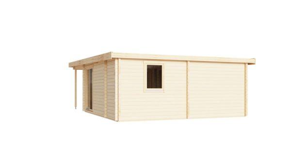 Garden annexe with a veranda TAUNUS 70 + TC | 9.2 x 6.3 m (29'11'' x 20'8'') 70 mm 5