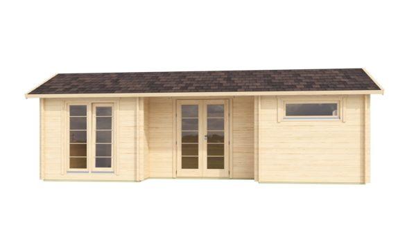 Spacious log cabin URI 44 | 8.6 x 5.1 m (28'3'' x 16'9'') 44 mm 2