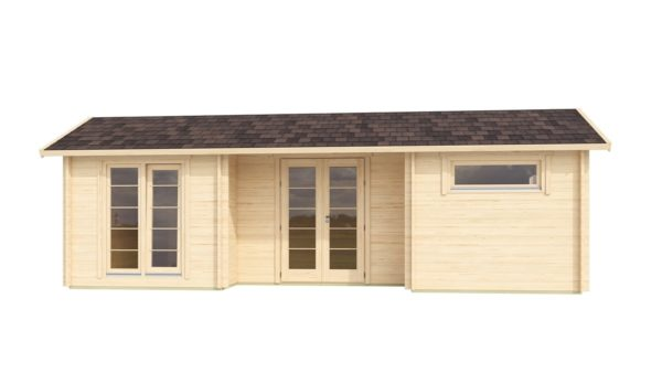 Nordic Quality log cabin URI 70 | 8.6 x 5.1 m (28'3'' x 16'9'') 70 mm 2