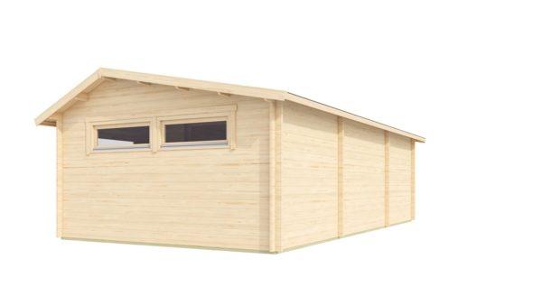 Nordic Quality log cabin URI 70 | 8.6 x 5.1 m (28'3'' x 16'9'') 70 mm 4