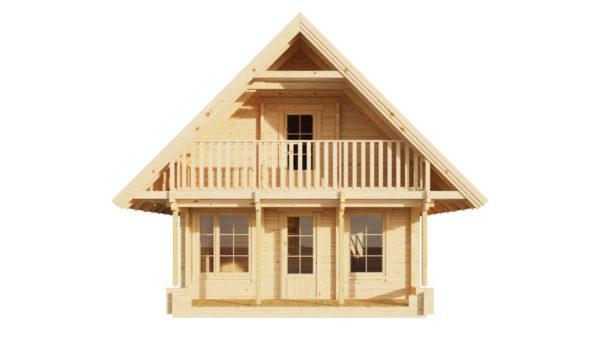 ANDERS 90 - 2-STOREY LOG HOUSE 2