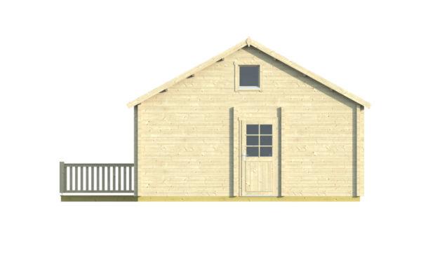 ESMERALDA 90 - LOG HOUSE WITH SAUNA 6