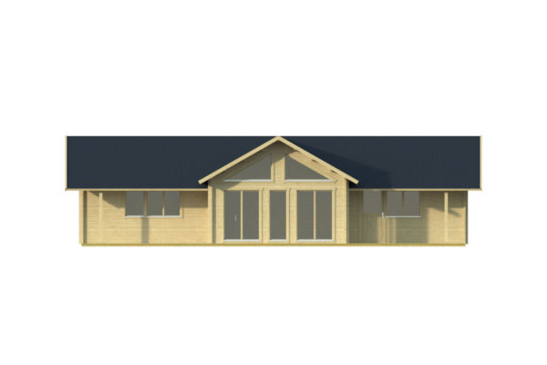 FRANCESCA 70 - LOG CABIN WITH MULTIPLE ROOMS 14.7m X 11m 3