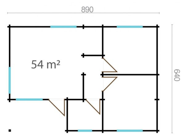 PENELOPE 70 8.9m X 6.4m 8