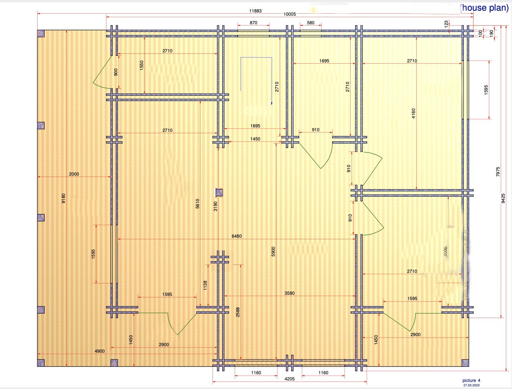 MONSERAT 190 - LUXURIOUS HOUSE 11.9m X 9.5m 16