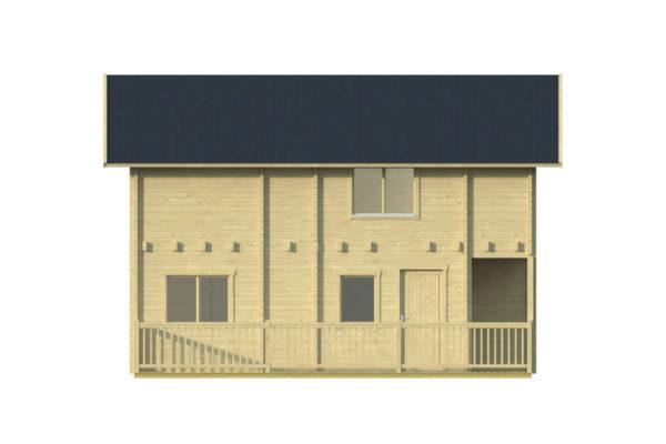 BUENASUERTE 70 - LOG HOUSE WITH A TERRACE 8