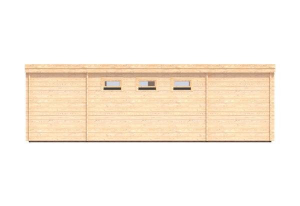 CARLOW LOG CABIN   4.2m X 8m 9