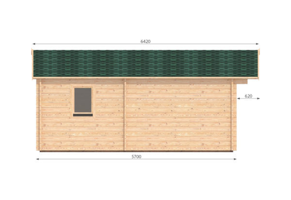NAAS CABIN | 5m X 5.7m 12