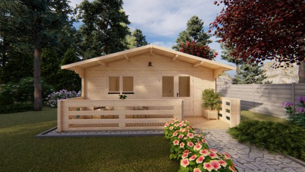 WATERFORD LOG CABIN | 6m X 6m + WC 4
