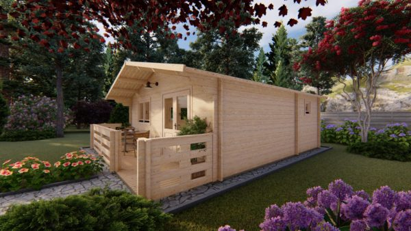 WATERFORD LOG CABIN | 6m X 6m + WC 5