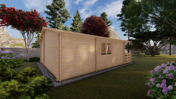 WATERFORD LOG CABIN | 6m X 6m + WC 7