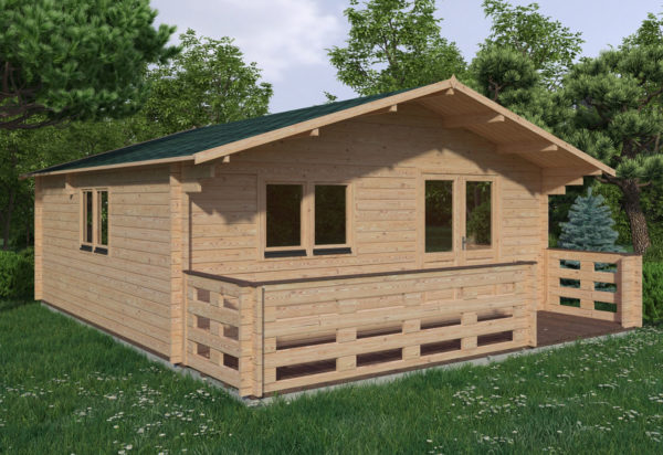WATERFORD LOG CABIN | 6m X 6m + WC 13