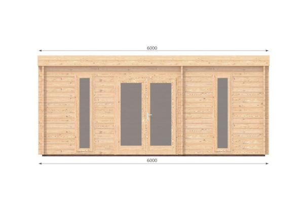 DUNBOYNE LOG CABIN | 6m X 4.5m 4