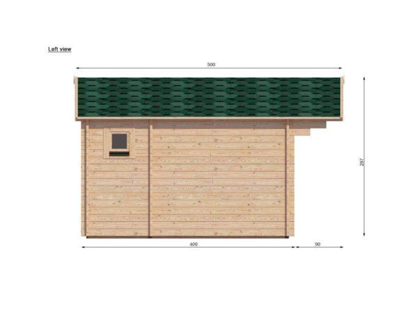 ASHBOURNE LOG CABIN | 5.6m X 4m 10