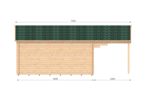 LEIXLIP LOG CABIN   6m X 5m 13