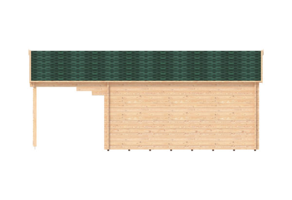 LEIXLIP LOG CABIN   6m X 5m 14
