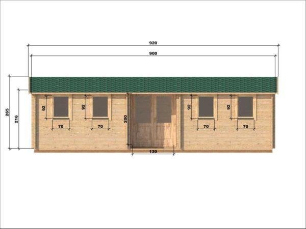 SHANKILL LOG CABIN | 3m X 9m 10
