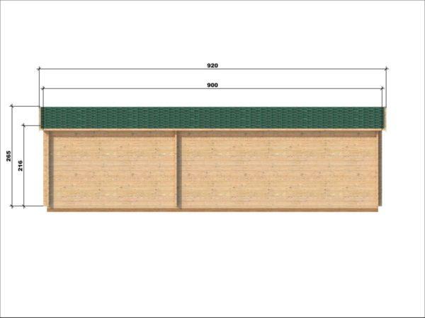 SHANKILL LOG CABIN | 3m X 9m 13