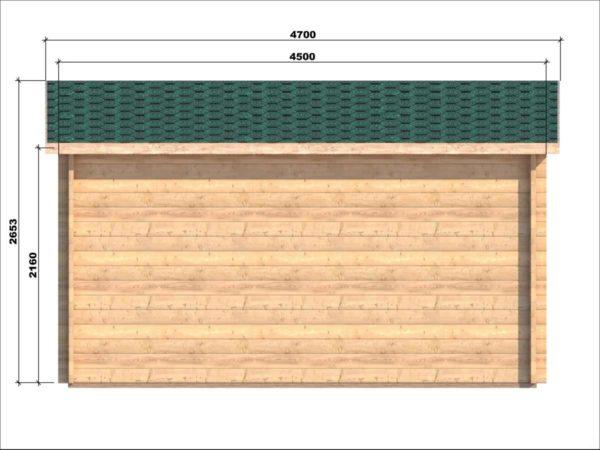 MONKSTOWN LOG CABIN | 2.5m X 4.5m 7